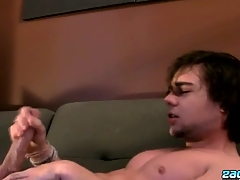 Stroking One Out Almost A Fleshlight - Zack Randall