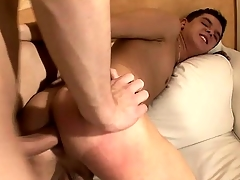 Two Texan twink chum toys acquire into some hot with the addition of nasty anal action