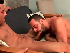 Latin guy sucks sexy obey cock lustily