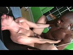 Eyeless dark-skinned cock fucks an bore bareback