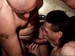 Naughty ex prisoner sucking blarney