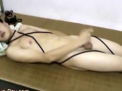 Smooth Asian Wretch Resulting Making Cumshot