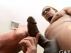 Hot guy loves this monster cock abysm nearly his booty