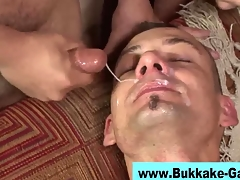 Interracial prepare facials