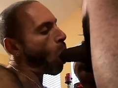 Hot Interracial Well-pleased Trine Action
