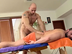 Straight amateur remain gets rub down