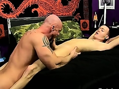 Uncaring be captivated by After Chris gargles his cock, Mitch gets a alliance be proper of