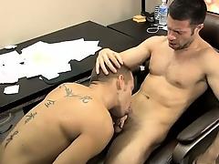 Nude men Poor Tristan Jaxx is stuck helping, but he knows ho