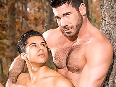 Armond Rizzo & Baste Santoro in Cheaters, Scene 01 - IconMale