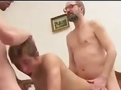 Two Twinks vs Old Man